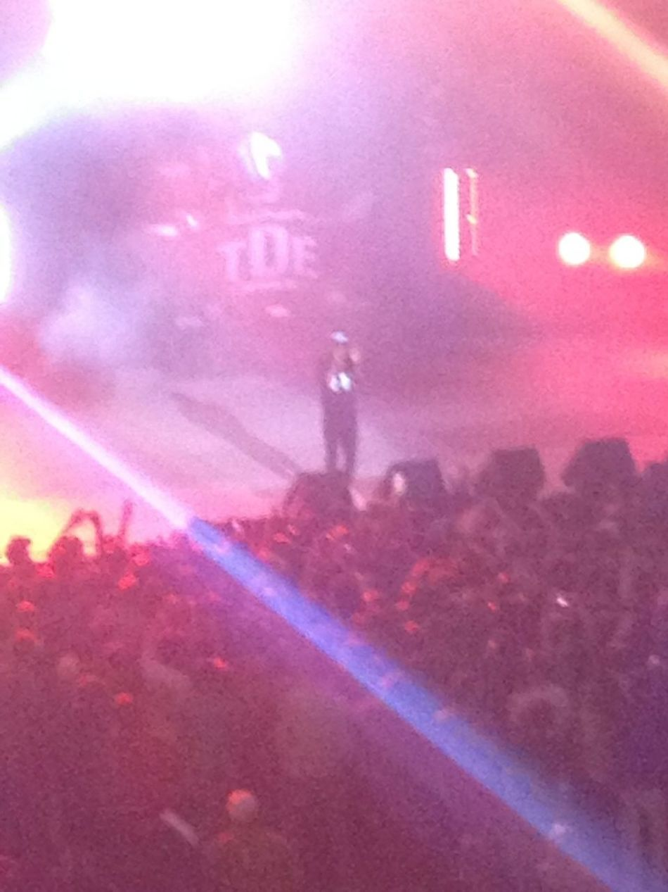 Went to see Kendrick Lamar live in Williamsburg