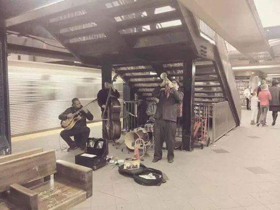 For The Love Of Music Subway Livejazz NYC Streetmusic Streetjazz