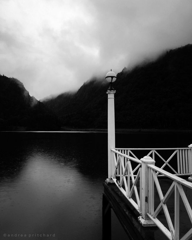 """Silence is a source of great strength"" Blackandwhite Dream Tapestries Lanscape Photography Black And White"