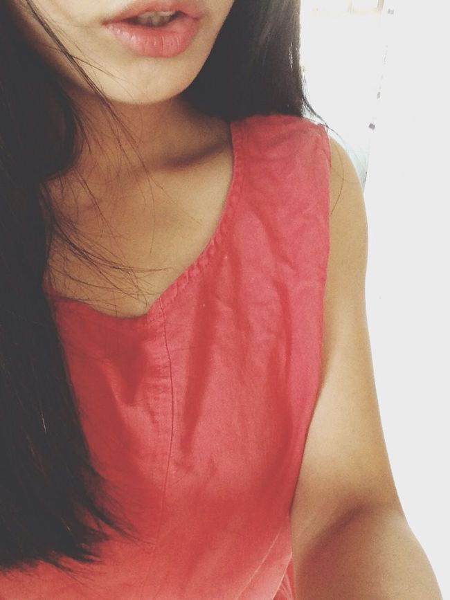 today I'm red