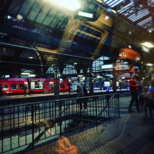 Copenhagen Central Train Station One The Way