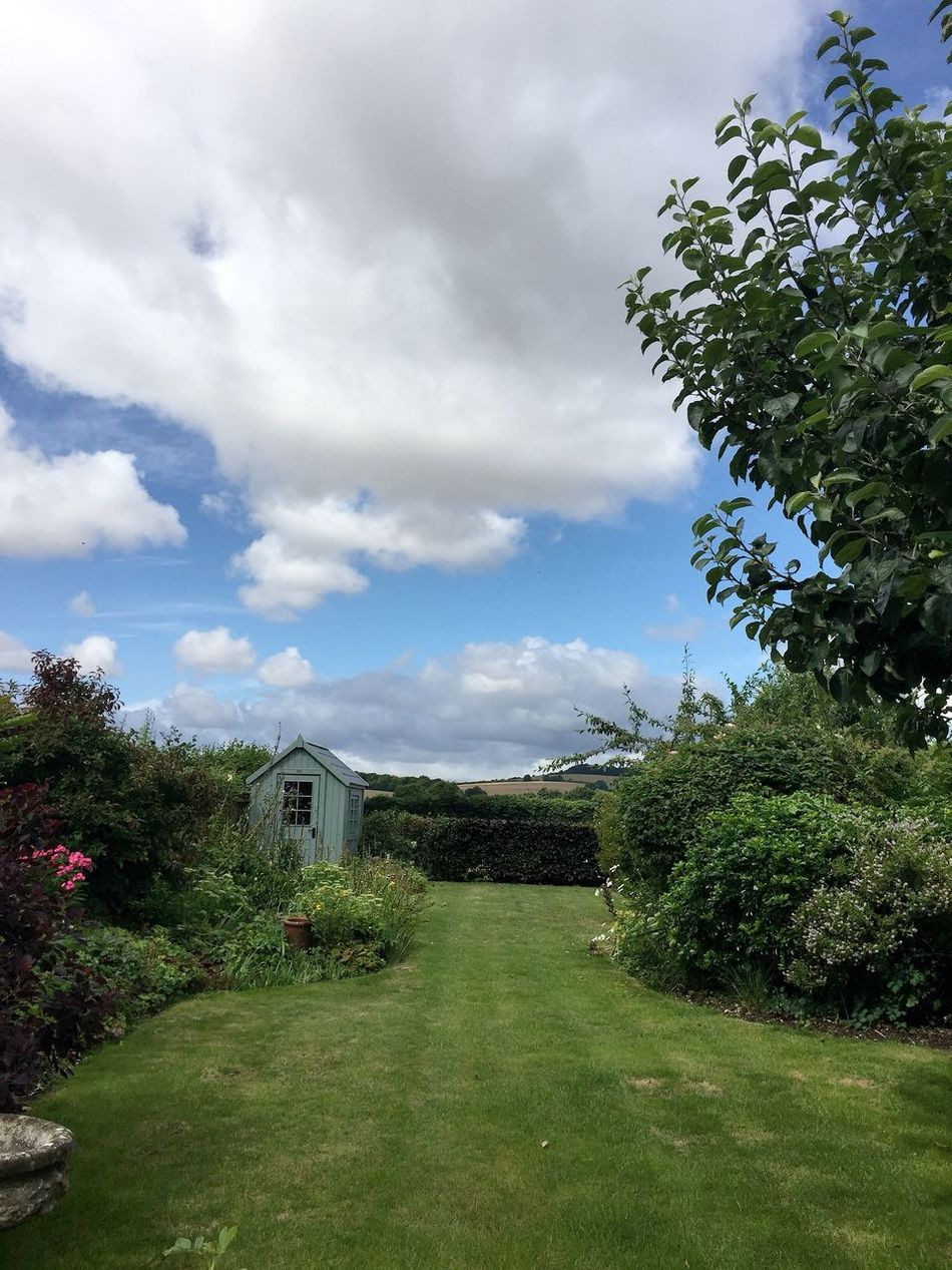 Gardens Garden Photography Garden With A View Backing Onto Fields Sky Architecture Building Cloud Tranquility The Way Forward Overcast Landscape Landscape_Collection Landscape_photography Weather Home Is Where The Art Is