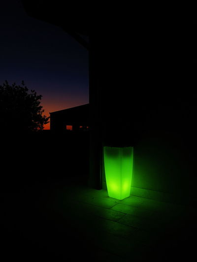 Neon Life Green Color No People Night Grass Indoors  Illuminated Nature Tranquility Tranquil Scene Scenics Nature Outdoors Pink Sky Sunset_collection Sunlight Vase Green Vase Green Lights Green Lighting Green Light On The Street Green Light Blue Dark Blue Pink Sky Sunset