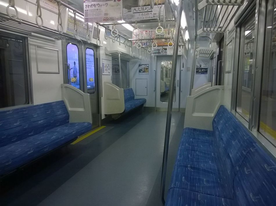 Illuminated Indoors  JR Line Network Server No People Seat Security System Train Station