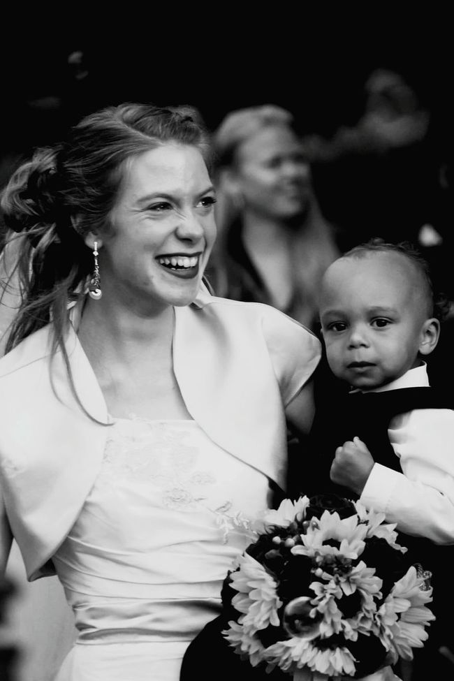 Black and white ¦¦ Wedding ⚭ Smiling Weddinginspiration Happiness Weddingday  Colorful Still Life Holding Front View Casual Clothing New Life Baby Lifestyles Portrait Person Young Women Togetherness Friendship Wedding Photos Enjoyment Boys Rose - Flower Childhood Bouquet Glowing Close-up