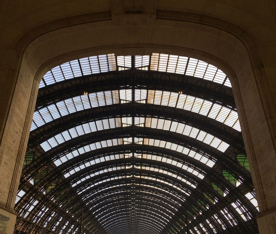 Maximum Closeness Architecture Built Structure Low Angle View No People Traveling Travel Destinations Travel Photography Old Buildings Station Train Station Old Building  Streetphotography Light And Shadow Italy Milano Travel Street Photography Urban Geometry Urban Urban Exploration Urbanphotography Geometry