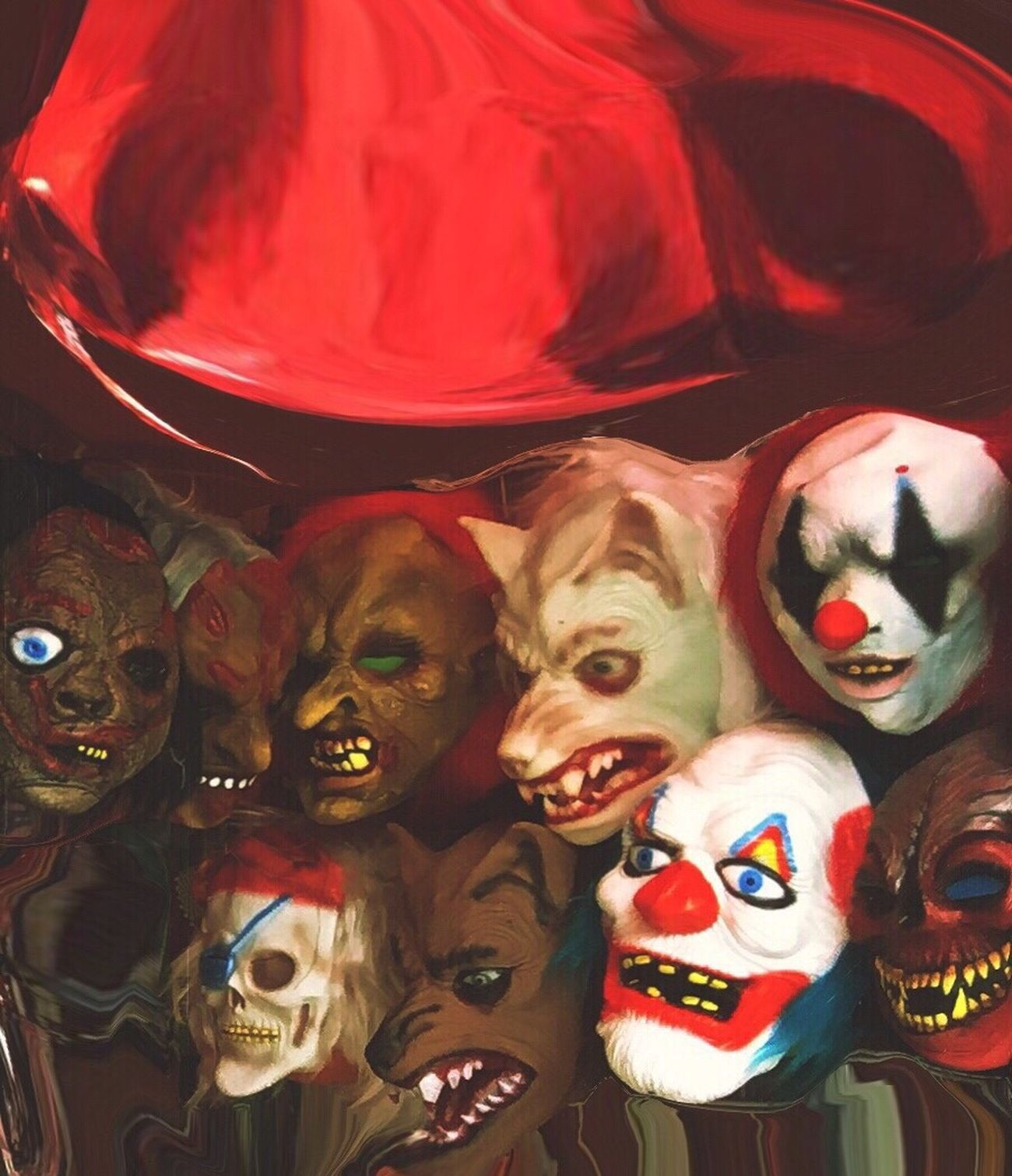 "Nine ""happy"" monsters ... EyeEm Best Edits Halloween Halloween Horrors"