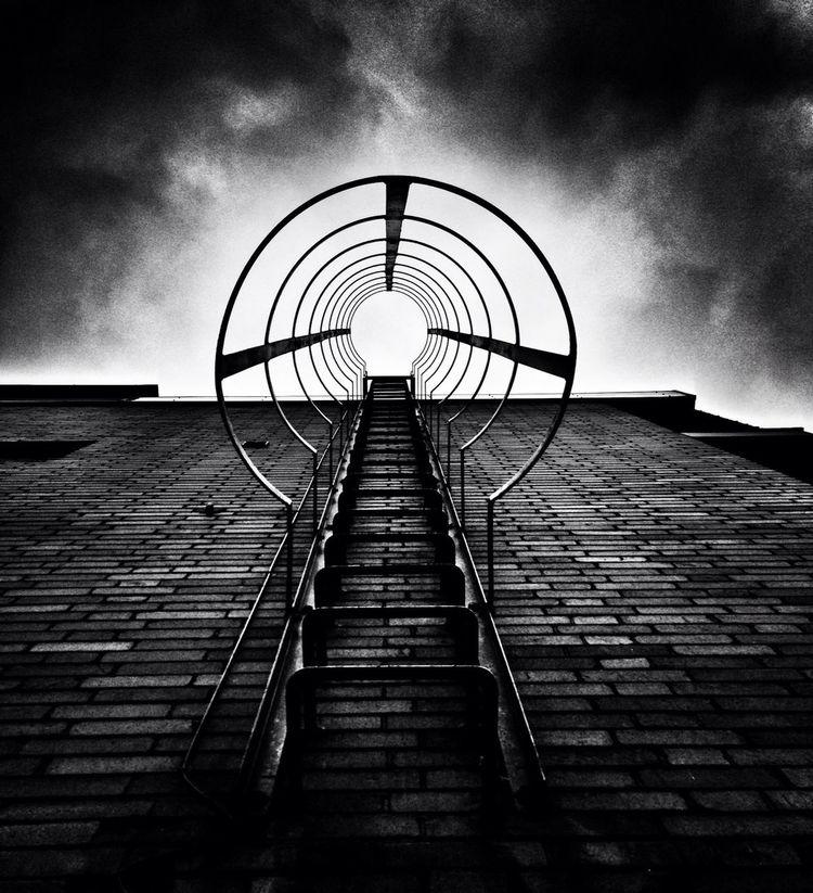 Blackandwhite Stairways Stairs