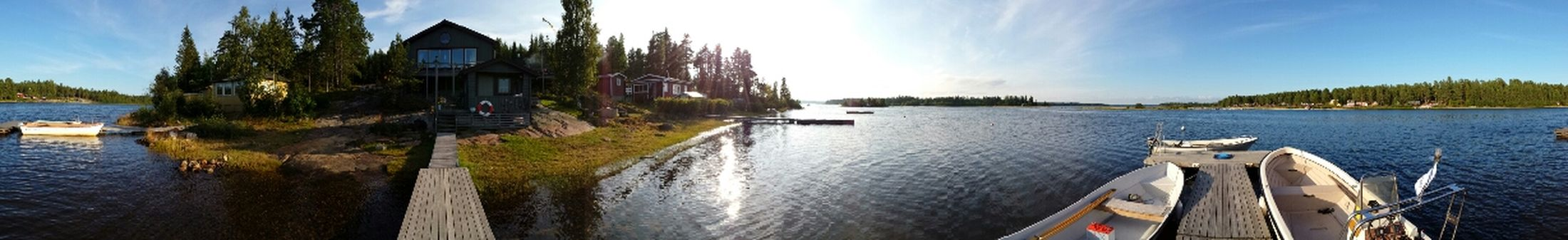 Enjoying life at my friends cabin - Halsön, North of Sweden Relaxing Summer Beautiful