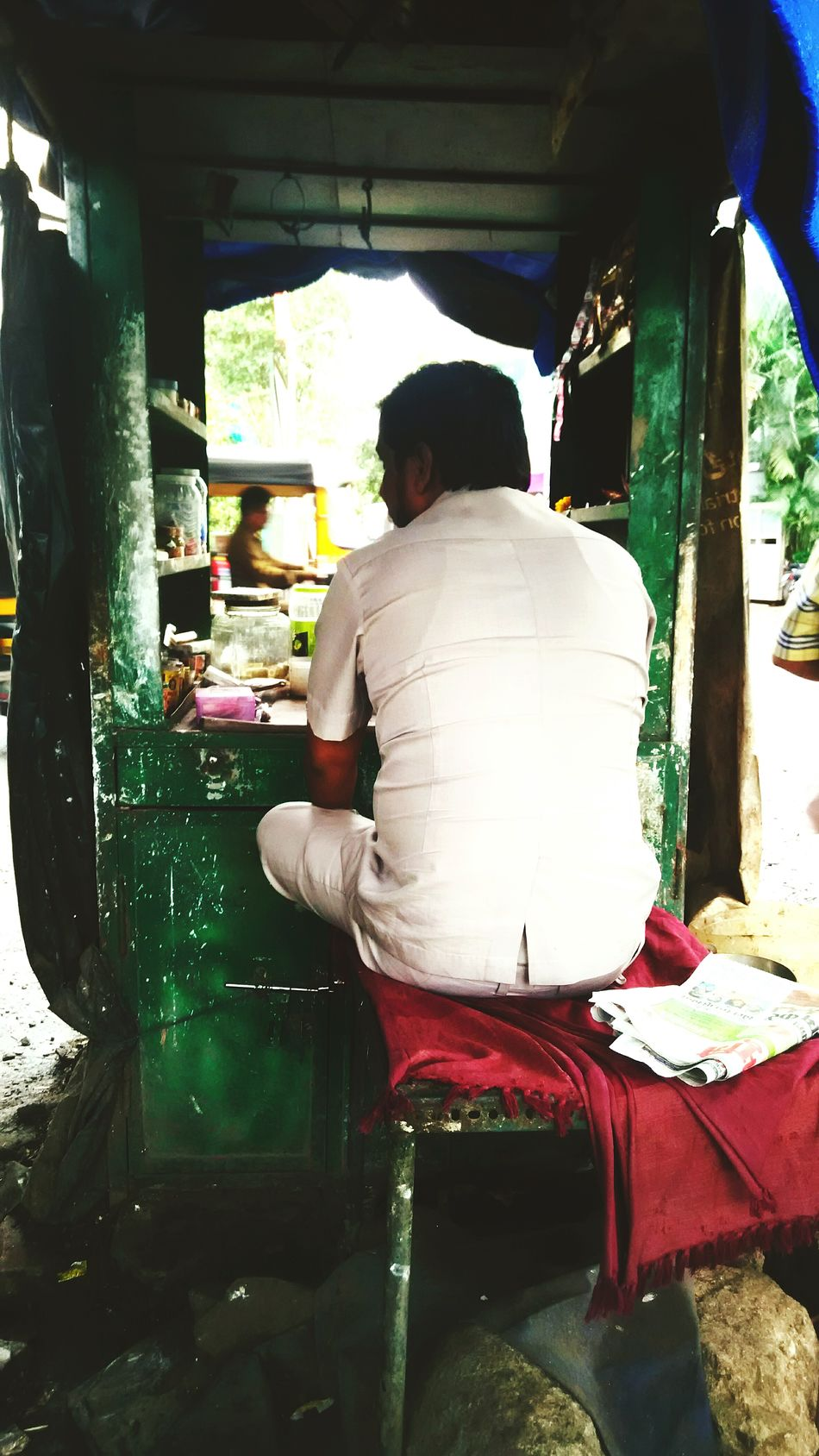 Taking Photos Check This Out Pivotal Ideas Mumbai Connecting With The World  Colour Of Life Paan Shop Cigarette Shop Eyeemphoto Two Is Better Than One