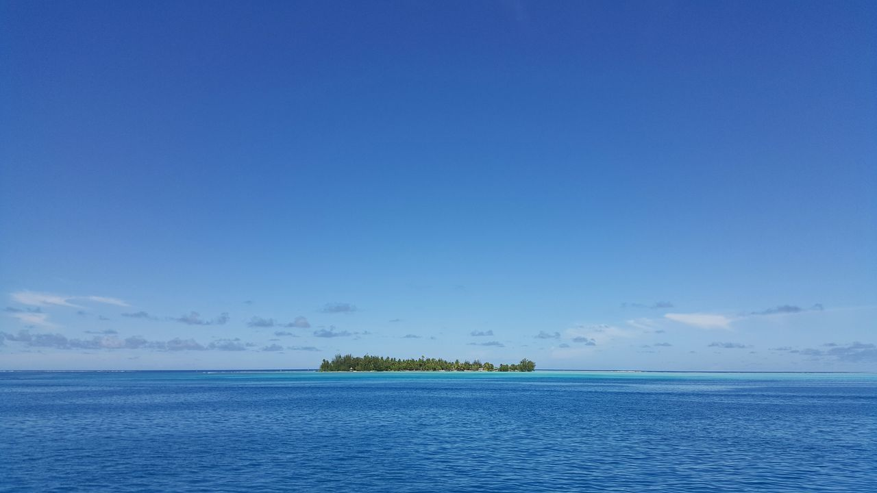 Beautiful stock photos of bora bora, Bliss, beauty In Nature, blue, calm