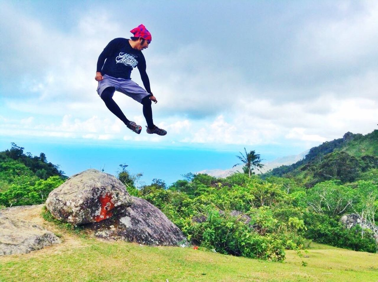 Mt. Daguldol Summit. Batangas Philippines