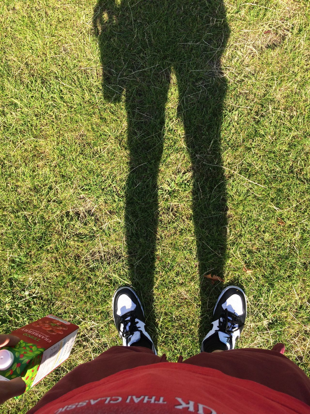 The City Light Low Section Grass Human Body Part Human Leg Standing Shoe One Person Leisure Activity Green Color Real People Outdoors Close-up Canvas Shoe Day One Man Only People
