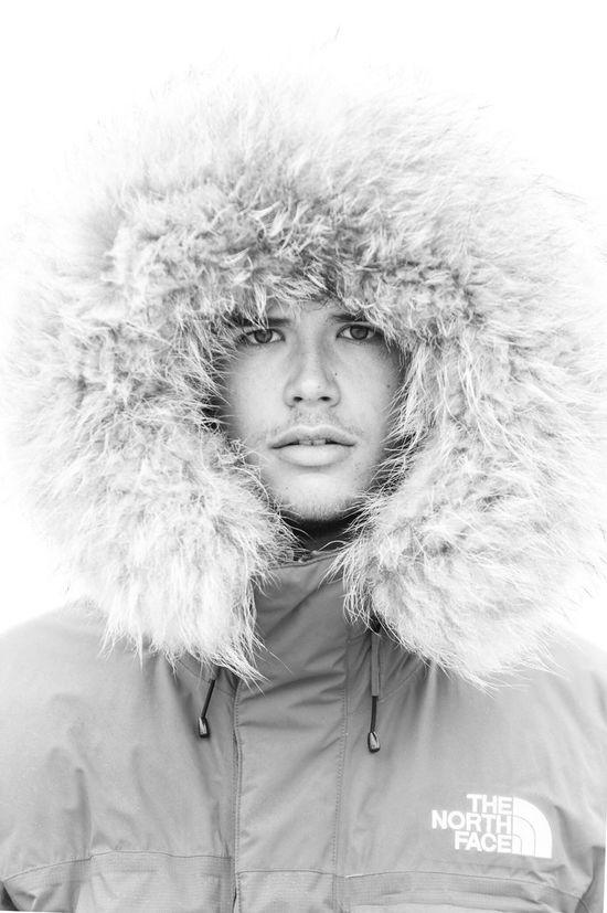 Dan Winter Fur Portrait Portrait Of A Friend Fashion Outdoors Beach