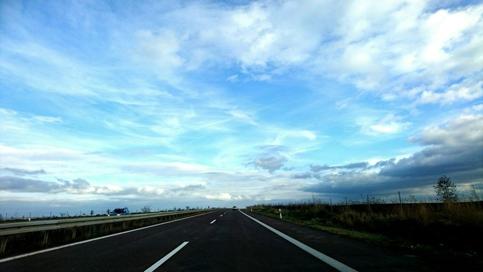 On The Road Drivebyphotography Eastgermany SonyXperiaZ5Compact Xperiaphotography