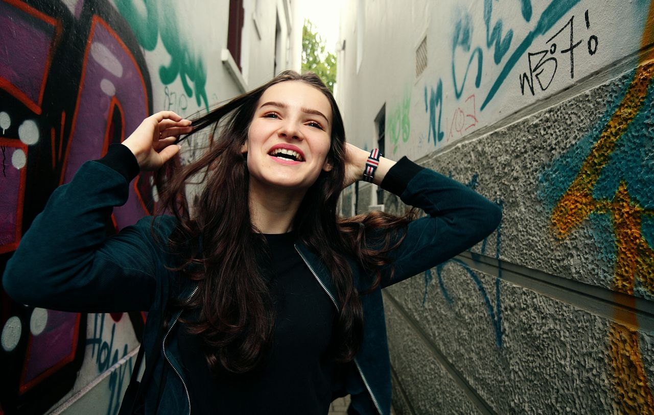 Beautiful stock photos of graffiti,  14-15 Years,  Adult,  Adults Only,  Alley