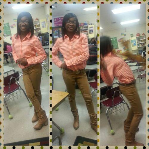 Takin Pics at School