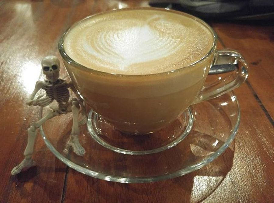 Coffee Coffeetime Cappuccino Coffeesesh Figure Toys Skeleton Rement Poseskeleton Val  2016 LGG4 LG  G4 😚 ☕ ☠