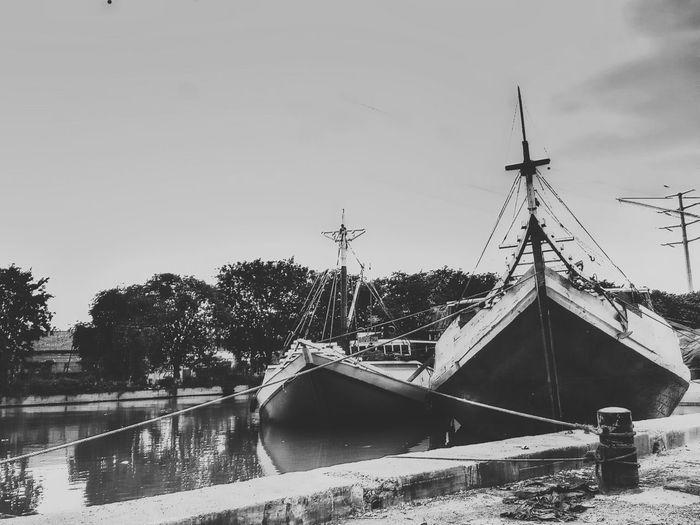 Sea Blackandwhite Boats EyeEm Best Shots