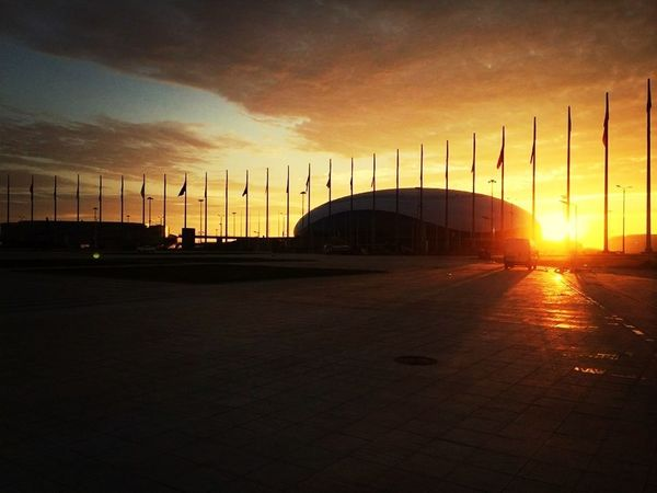Sochi Olympic Park 2014 Sunset (null)(null)Sun_collection