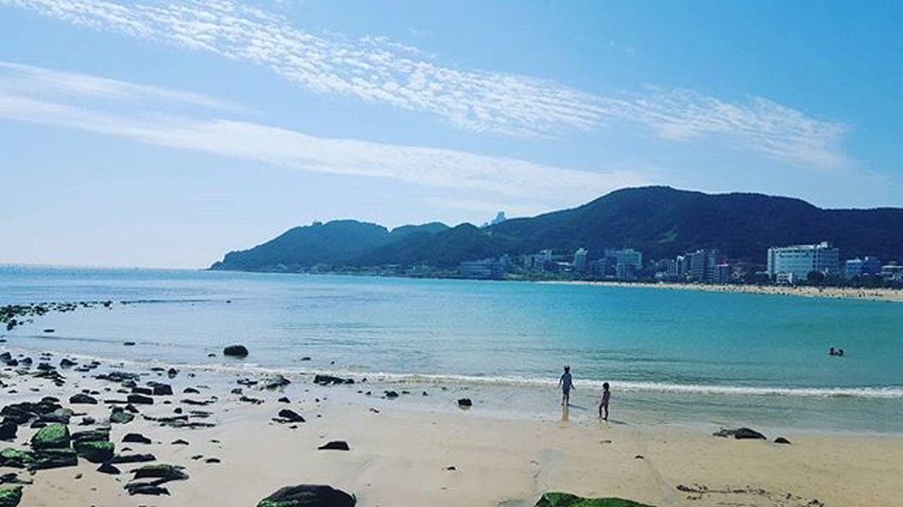 이제는 명절마다 송정해수욕장 Songjung 부산 Busan 바다 일상 데일리 사진 여행 일상공유 맞팔 Sotong 미러리스카메라 Follow Followme Photo Travel Daily Southkorea