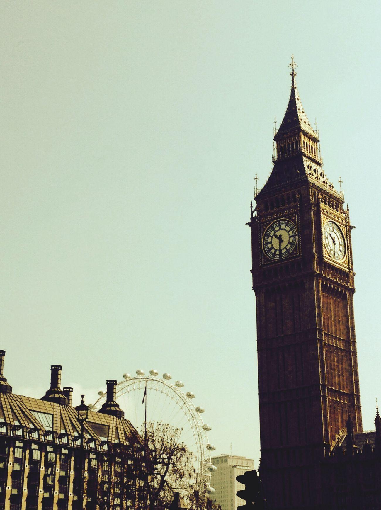 Big Ben London London Eye