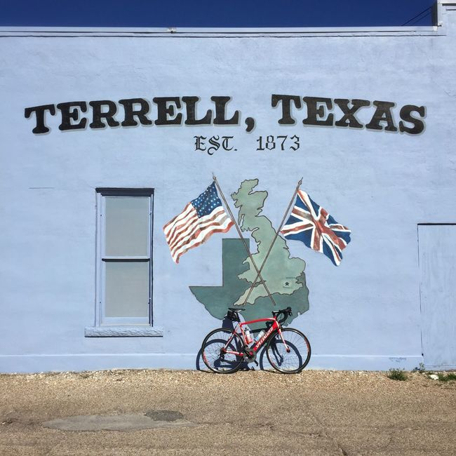 Terrell, Texas Texas Bicycle Bicycles Cyclist Enjoying Life That's Me