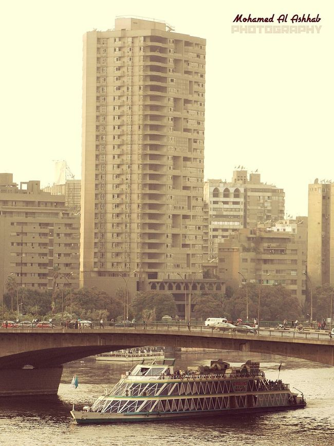 Nilo Everyday Nile_view In Cairo Street Photography Water Egypt