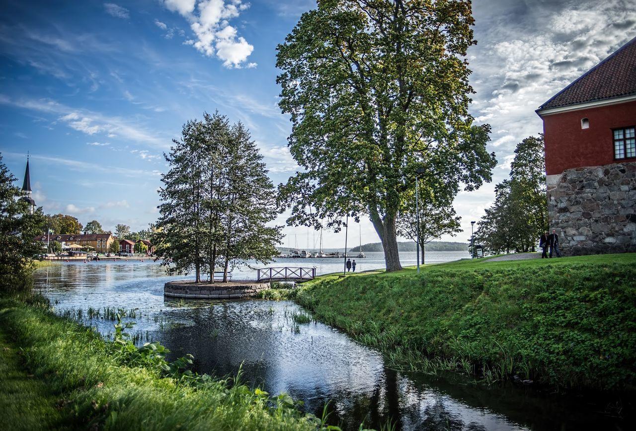Mariefred Landscape Gripsholm Tornebohmphotos