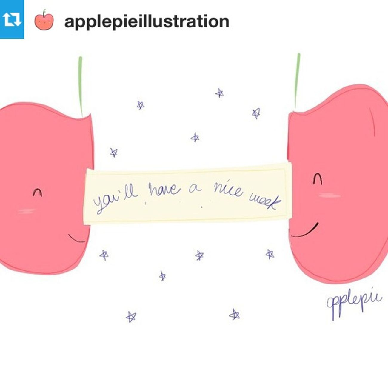 FollowUS Byjimenazhu Applepie Illustration