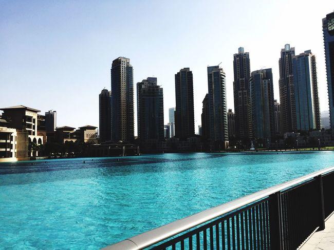 Dubai UAE United Arab Emirates Burj Khalifa At Burj Khalifa Fantastic View Architecture City Skyscraper Water Dubai❤ Dubai Holidays My Dubai Enjoy Tower Modern Outdoors Building Exterior Vereinigtearabischeemirate Arabic Cityscape Nice Atmosphere Stunning Stunning View Architecture