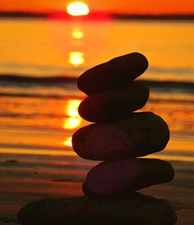 Stack Sunset Zen-like Stability Balance Rock - Object Silhouette No People Sunlight Harmony Tranquility Water Nature Indoors  Beauty In Nature Representing Day Close-up Sky Stacking Rocks Beach Photography Dusk Colours Sunlight Brilliant Moments Tranquil Scene Paint The Town Yellow