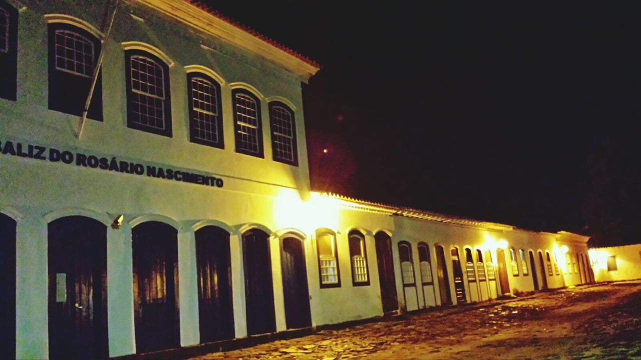 Architecture History Night Travel Destinations Built Structure City Illuminated Building Exterior No People Sky Outdoors Paraty - RJ Historic City Hostoric Centre Historical Architecture Historical City