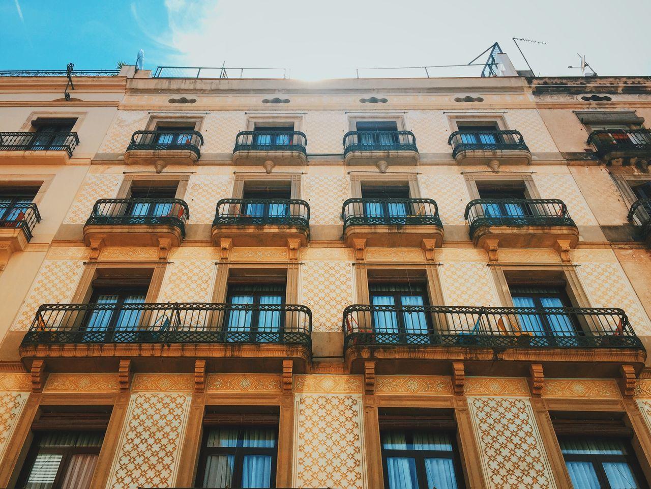 Balconies. Architecture Traveling Wanderlust VSCO Sunshine 43 Golden Moments Vscocam Looking Up