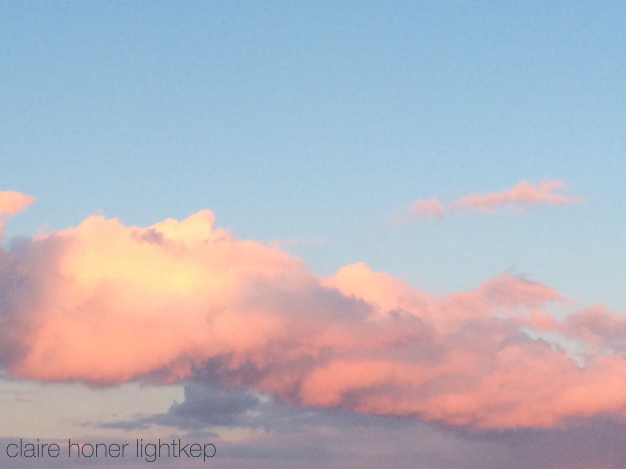 sky, nature, scenics, beauty in nature, no people, cloud - sky, tranquility, sky only, outdoors, low angle view, sunset, day
