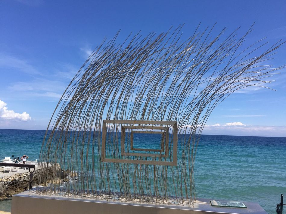 Screens at large. In front of Stavento bar. Greece Holidays Sea And Sky Platamonas The Great Outdoors - 2016 EyeEm Awards