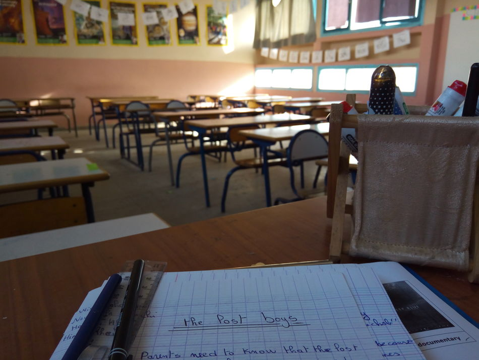 The lost generation... Chair Table Empty Day Classroombuilding School Education First !