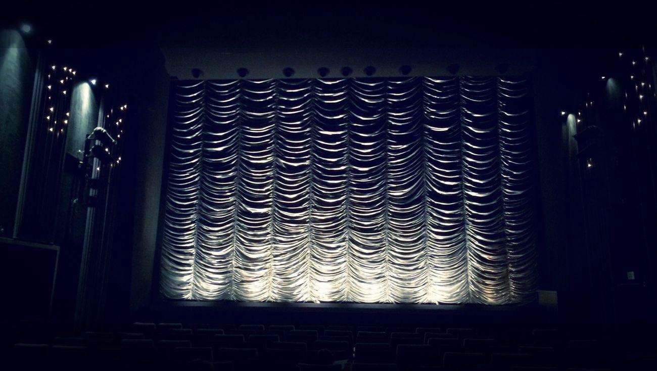 Cinema Kino Vorhang Kinosaal Curtain Lowkey