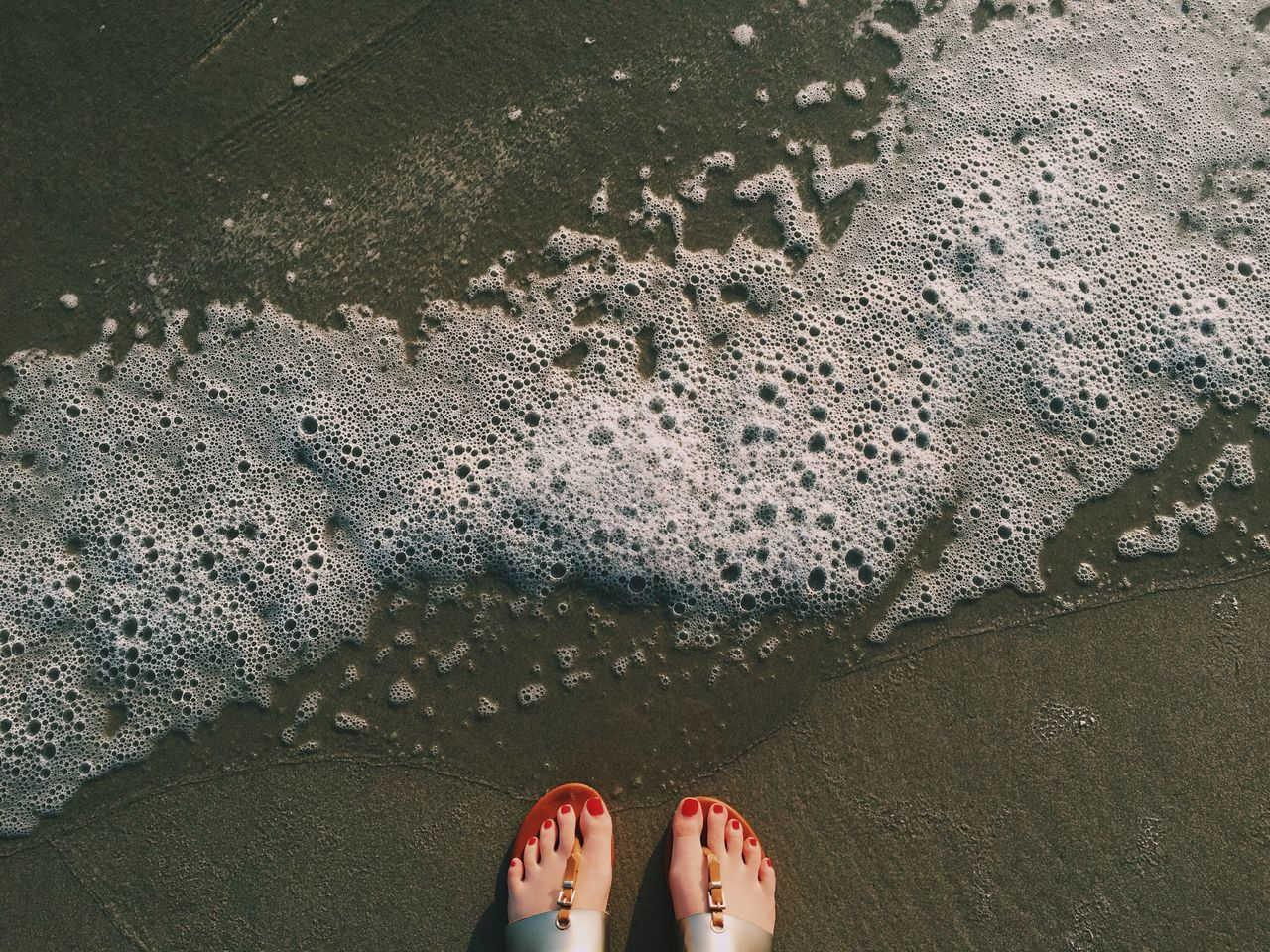 Feet Waves Bubbles Beach Sand Ocean VSCO Vscocam Vscogood Sea Hyatt Regency Hyatt Da Nang Vietnam Feet Showcase March Summer Traveling