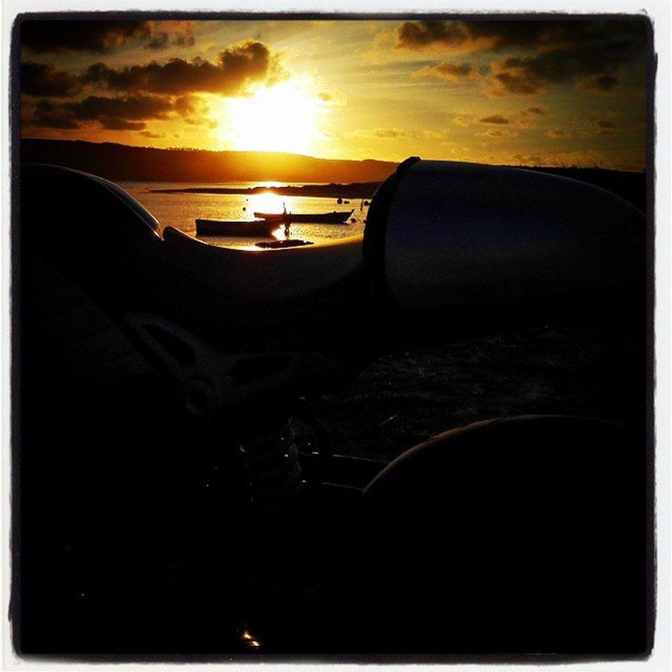 Lagoadeobidos Sunset R9t Rninet Ninet Bmwr9t Bmwrninet Bmwninet