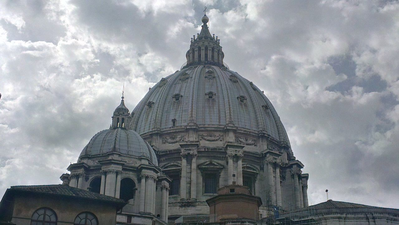 Er cupolone! San Pietro Vaticano On The Road Born To Be Wild