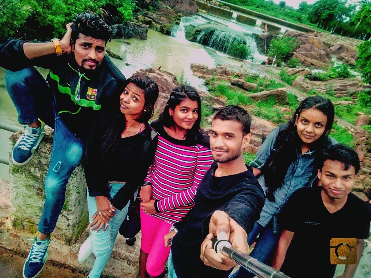 Showcase July Waterfall Rainy Weather Mountains Katni,Mp,India Love ♥ Friends ❤ July Fun