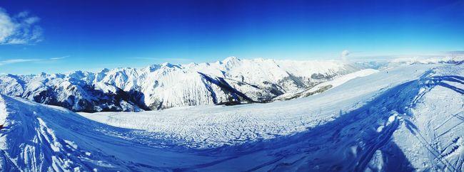 Snow Alpes Meribel Skiing France Ski Montains