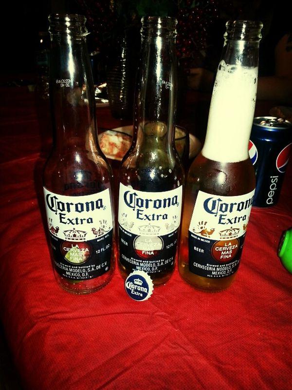 the 3 first empty coronas....