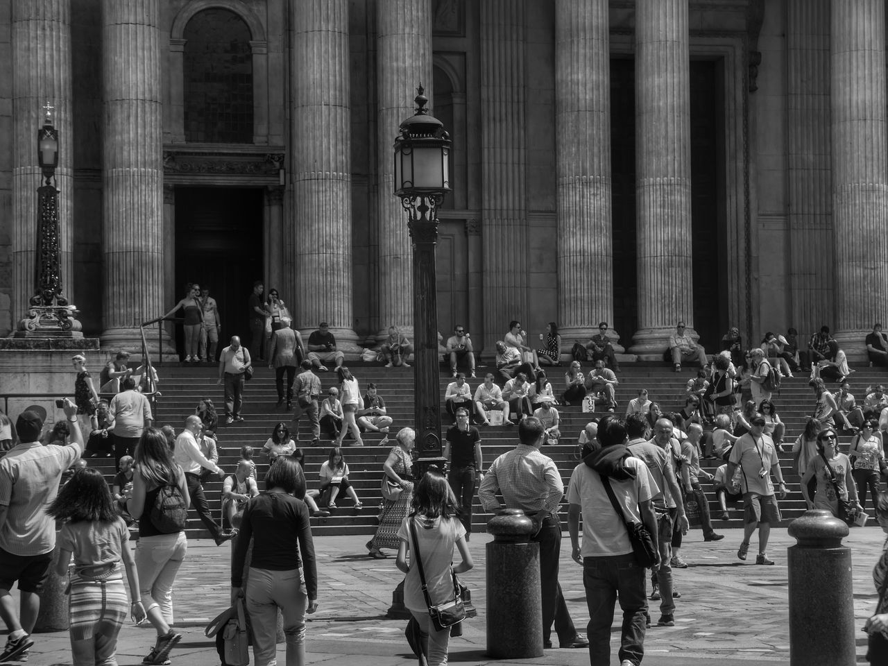 3...at st.pauls cathedral .... The Street Photographer - 2014 EyeEm Awards Thestoryteller-2014eyeemawards England What Does Peace Look Like To You?..the occupy protest started on15.10.2011 and ended on 14.6.2012 .it was a non-violent protest against economic inequality, social injustice etc..as a tourist i found this place crowded by people stting along steps and the cathedrals close , just wondering about that until my dear eyeem buddy joni told me about it... Under Pressure