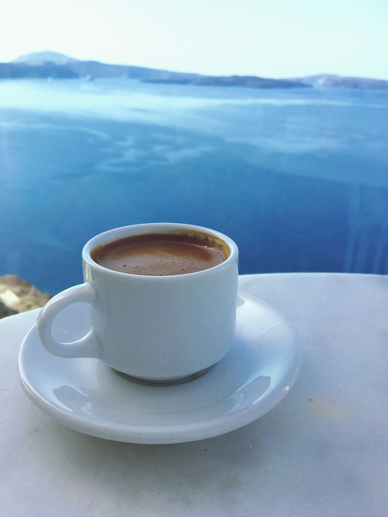 Greece Santorini Architecture Architectural Feature Greek Food Greek Coffee
