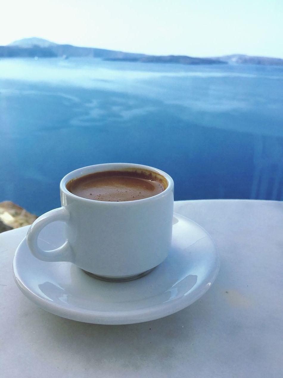 Greece Santorini Architecture Architectural Feature Greek Food Greek Coffee
