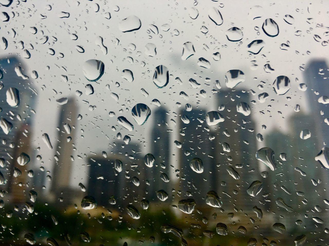 Panama City Rainy Days Rain Day Throuhg The Window Carwindow