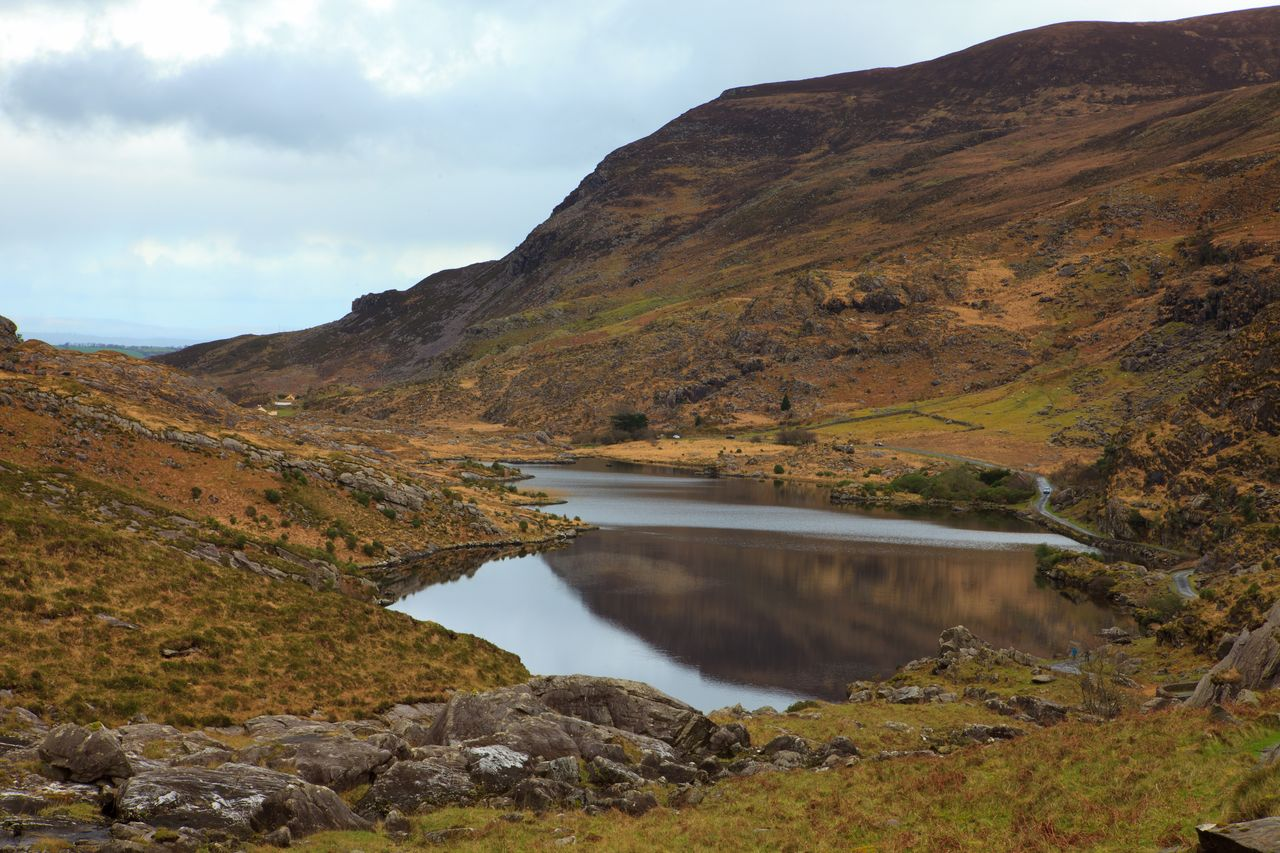 Beauty In Nature County Kerry Day Geology Idyllic Ireland Kerry Killarney  Lake Landscape Landscape_Collection Molls Gap Mountain Mountain Range Nature No People Outdoors Physical Geography Remote Republic Of Ireland Scenics Sky Tranquil Scene Tranquility Water