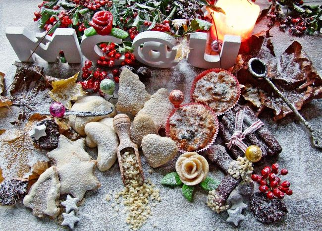 Arrangement Candle Light Christmas Christmas Decorations Cookies Cozytime Day Food And Drink Handmade By Me Homemade Large Group Of Objects Marzipan Multi Colored No People Ready To Eat Romantic Season Greetings Thorn Variation Winter Style